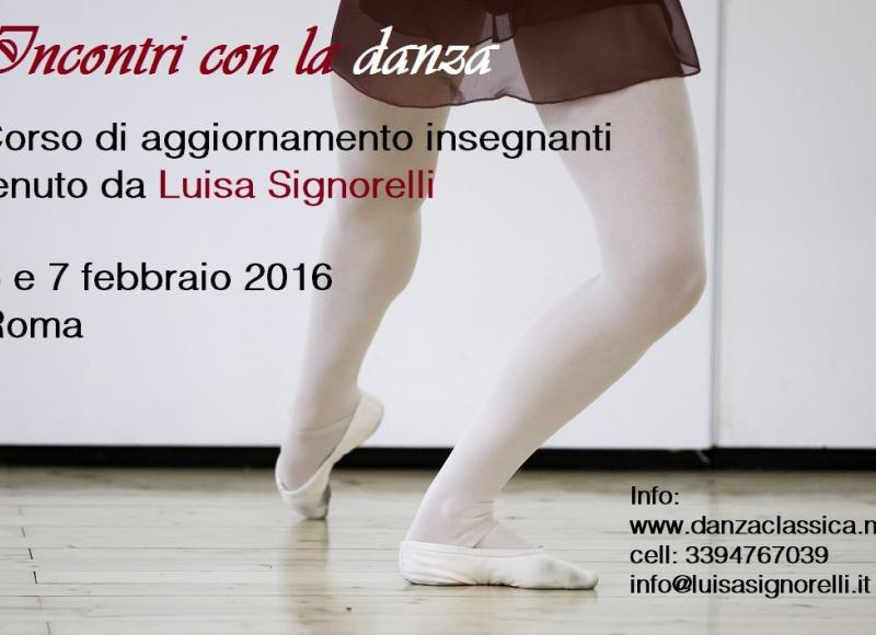 Incontri con la danza: corso di aggiornamento per insegnanti