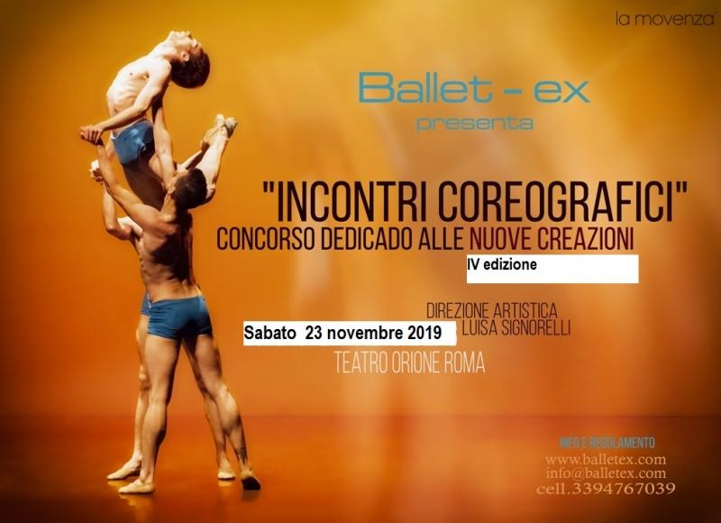 Incontri coreografici 2019