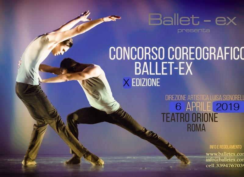 Concorso coreografico Ballet-ex 2018
